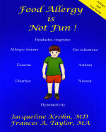 Food Allergies book cover - click to view more information