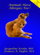 Animal ALlergies book cover - click to view more information