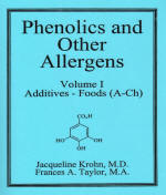 Phenolics and Other Allergens volumes I,II book cover
