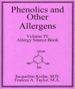 Phenolics and Other Allergens volume IV book cover